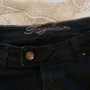 dELiA*S Black Jeans Capris